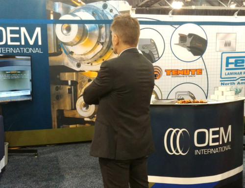 Tenute displayed its sealing ring range at AISTech 2019, the Iron & Steel Conference and Exhibition